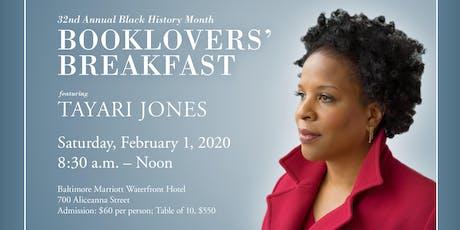 Booklovers' Breakfast featuring Tayari Jones tickets