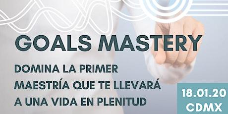 Goals Mastery entradas