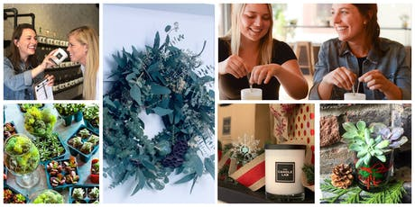 Holiday Wreaths and/or Succulents!  tickets