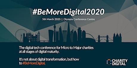 #BeMoreDigital Conference 2020 tickets