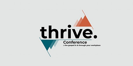 Thrive Conference Edinburgh 2020 tickets