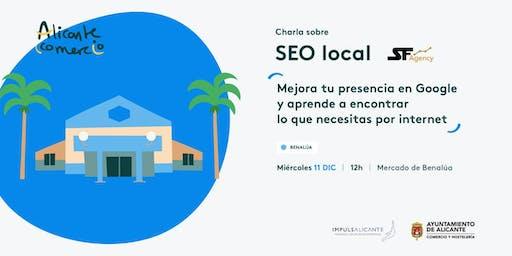 Charla SEO Local Mejora tu presencia en Google BENALÚA
