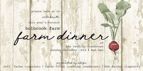 Holbrook Farm Dinner tickets