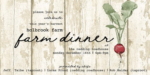 Holbrook Farm Dinner