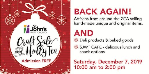Craft Sale and Holly Tea