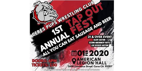 1st Annual Tap Out Fest tickets
