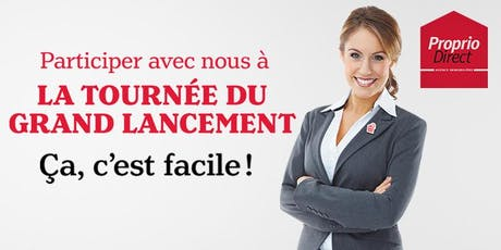 Tournée du Grand Lancement 2019 - Québec billets