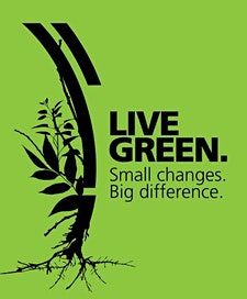Hume City Council's Live Green program logo