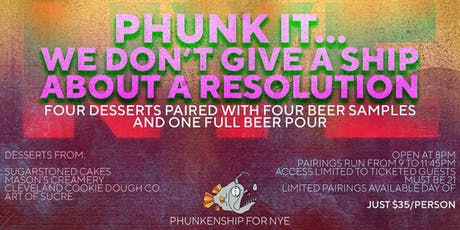 Phunk it... We don't give a ship about a resolution! tickets
