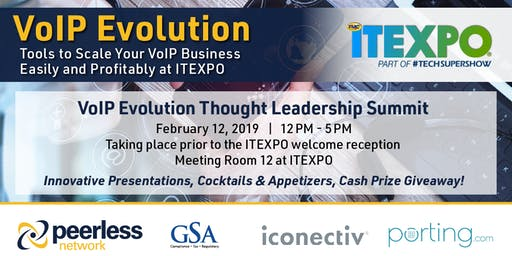 VoIP Evolution Thought Leadership Summit at ITEXPO