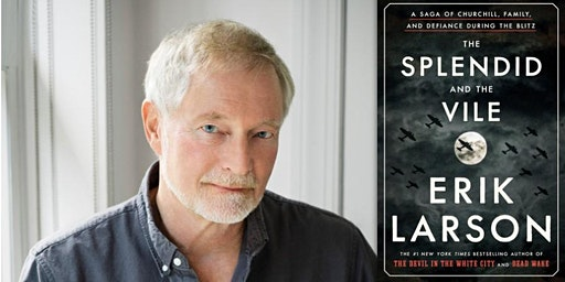 Erik Larson at the City Auditorium