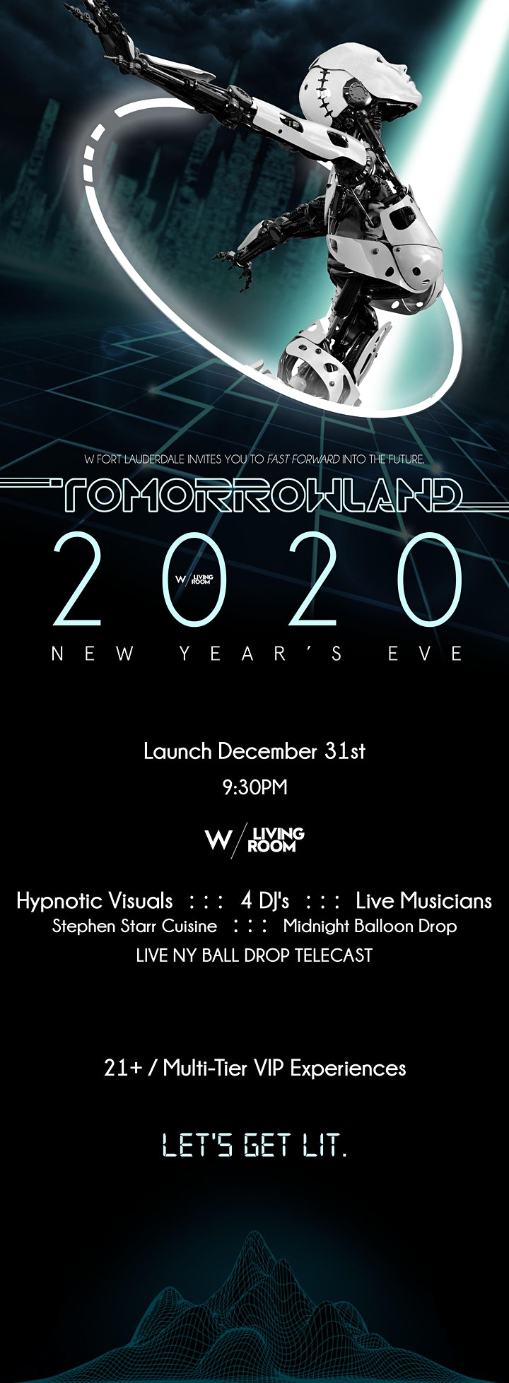 TOMORROWLAND NYE 2020 at W Fort Lauderdale image