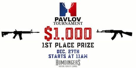 Pavlov $1,000 tournament tickets