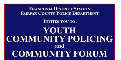 Youth Community Policing and Community Forum