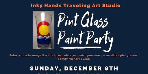 Pint Glass Paint Party