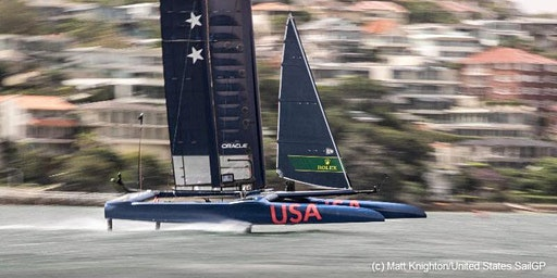 San Francisco SailGP 2020 Spectator Sail aboard Schooner Freda B