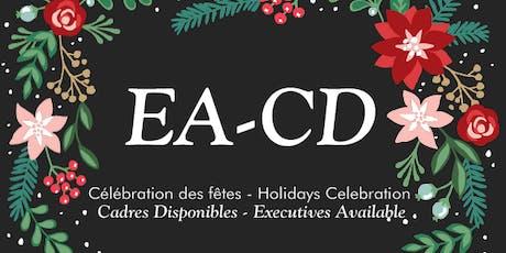 Cadres Disponibles E.A (EA_CD) Célébration des fêtes/ Holidays Celebration tickets