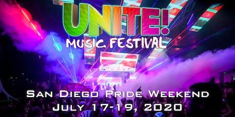UNITE! Music Festival - San Diego Pride 2020 tickets