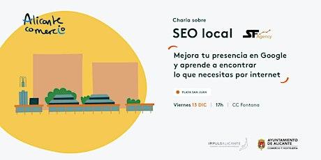 Charla SEO Local Mejora tu presencia en Google PLAYA DE SAN JUAN tickets