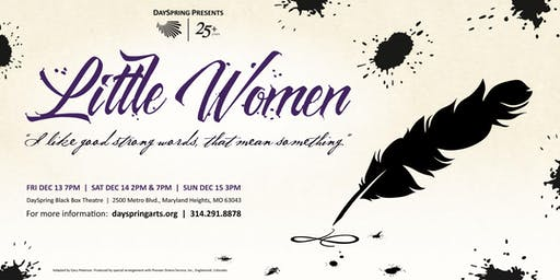 Little Women -- Saturday December 14th, 7pm