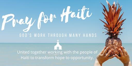 Pray for Haiti: God's Work Through Many Hands