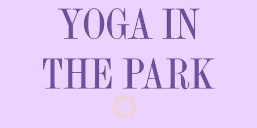 Yoga in the Park-Wednesday Nights!