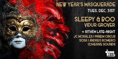 New Year's Eve Masquerade - Sleepy & Boo + more tickets