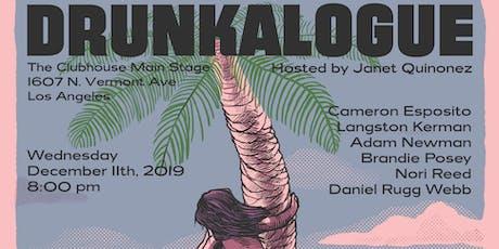 Drunkalogue Comedy Show - Dec 11th - FREE tickets