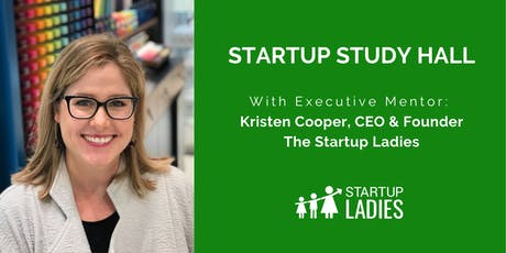 Startup Study Hall with Kristen Cooper in Anderson, IN tickets