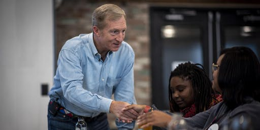Meet & Greet with Tom Steyer in Dubuque!