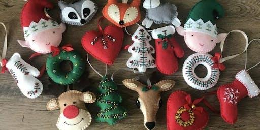 Festive Felty Decorations