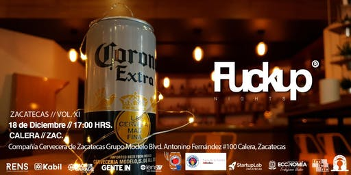 Fuckup Nights Zacatecas