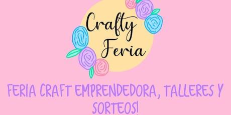 Crafty Feria 1° Edición | Banfield, GBA Sur | Feria emprendedora - talleres entradas