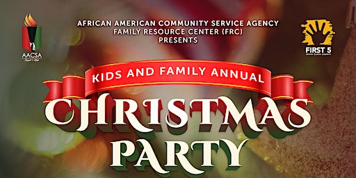 Kids Annual Christmas Party and Toy Giveaway