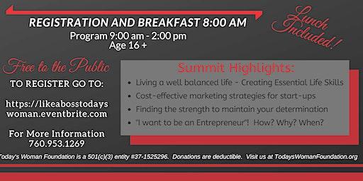 LIKE A BOSS!   Women's Entrepreneurial Summit
