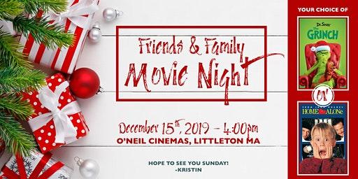Please Join Me For A Holiday Movie!