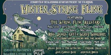 5th Annual Winter String Fling (SATURDAY) tickets