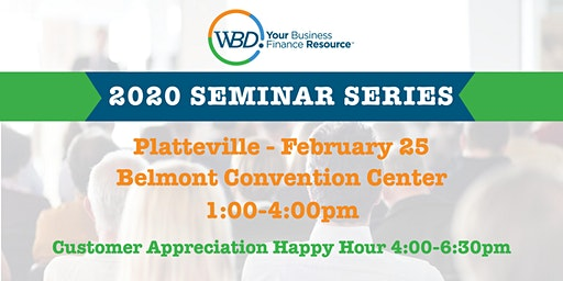 WBD 2020 Seminar Series - Platteville