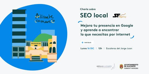 Charla SEO Local Mejora tu presencia en Google SAN BLAS