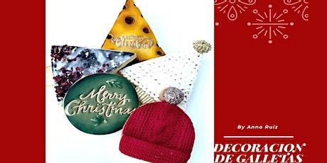 Galletas Decoradas de Navidad con Anna Ruiz en Anna Ruíz Store entradas