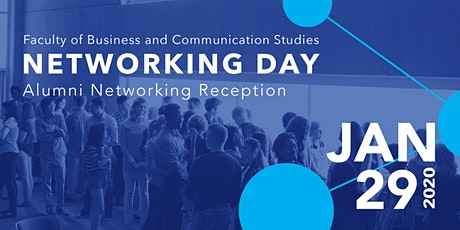 Networking Day 2020 Alumni Reception tickets