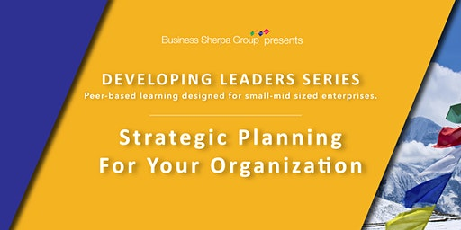 Developing Leaders Series: Strategic Planning for Your Organization