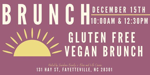Fayetteville's Gluten Free & Vegan Brunch