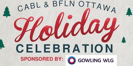 Mingle & Jingle with CABL & BFLN Ottawa! tickets