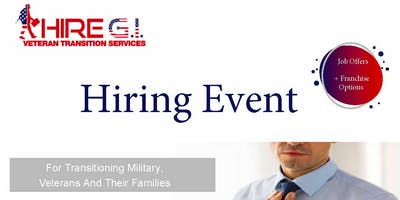 Camp Pendleton Veteran Job Fair - July 2020