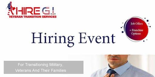 Camp Pendleton Veteran Job Fair - July 2020