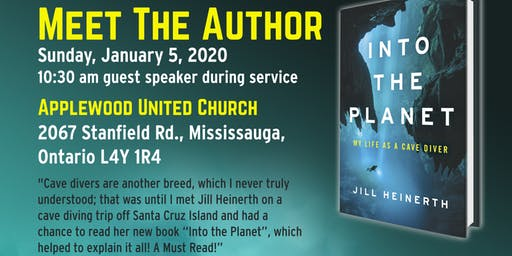 """Jill Heinerth """"Into The Planet"""" Author, Guest Speaker."""