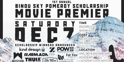 Bindu Sky Pomeroy Scholarship Movie Premier