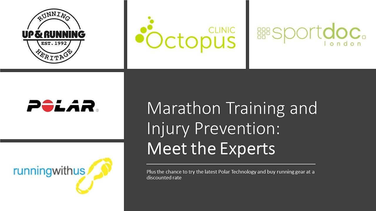 Your Marathon, Your Experts. Training and Injury Prevention Event