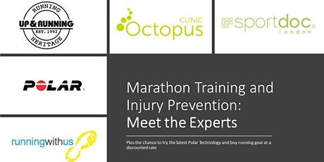 Your Marathon, Your Experts. Training and Injury Prevention Event tickets